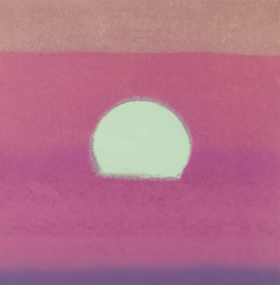 Andy Warhol-Sunset-1972