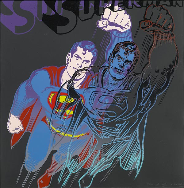 Andy Warhol-Superman-1981