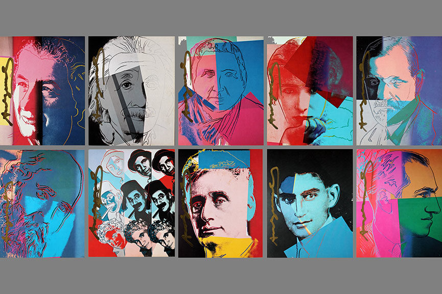 warhol jewish icons stolen news fakes movie replaced business angeles september