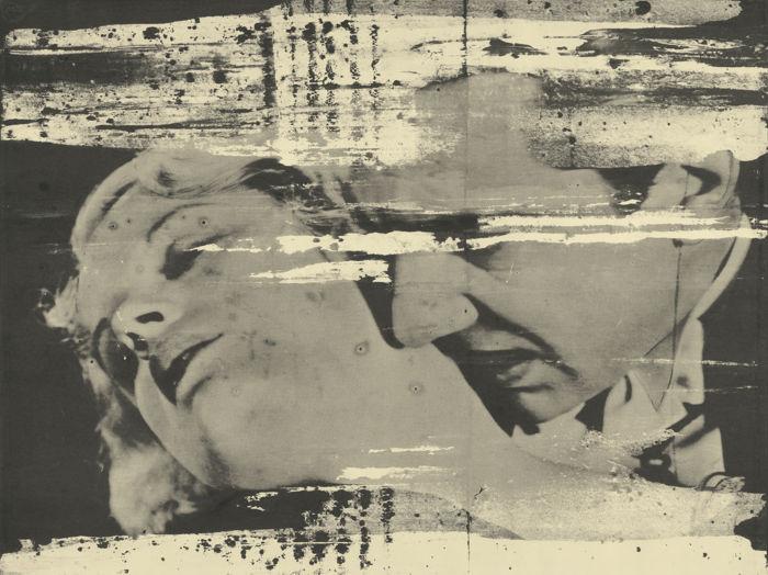 Andy Warhol-The Kiss (Bela Lugosi)-1964