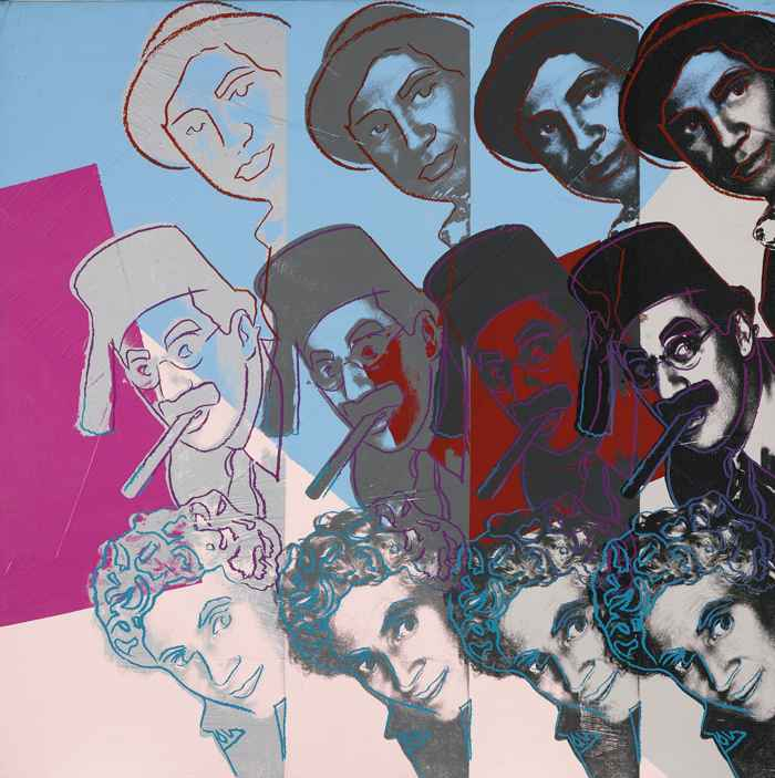 Andy Warhol-The Marx Brothers (From Ten Portraits Of Jews Of The Twentieth Century)-1980