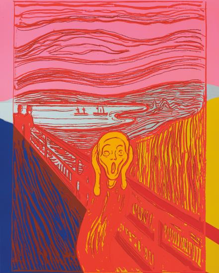 Andy Warhol-The Scream (after Munch)-1984