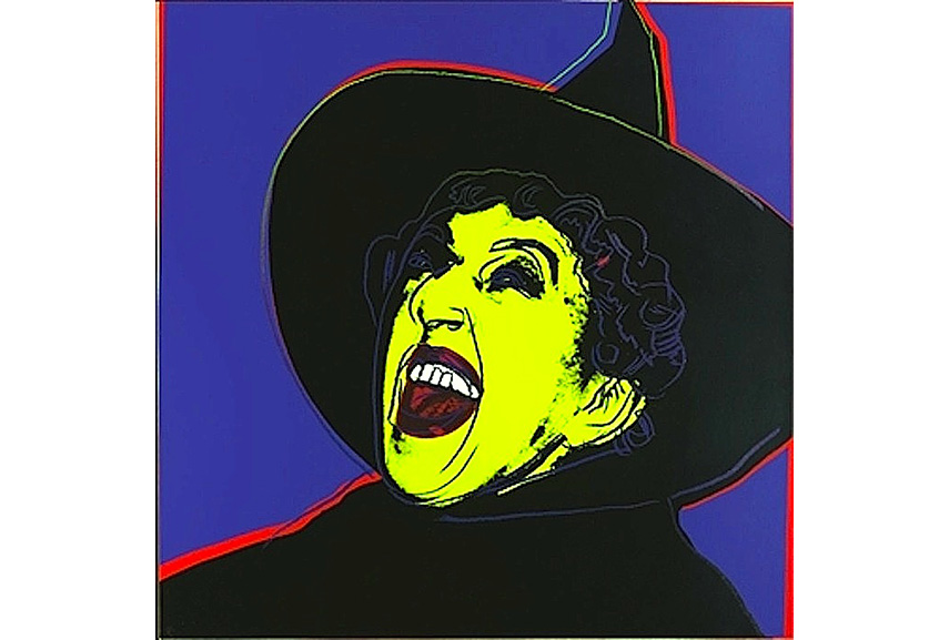 Andy Warhol - The Witch, from Myths