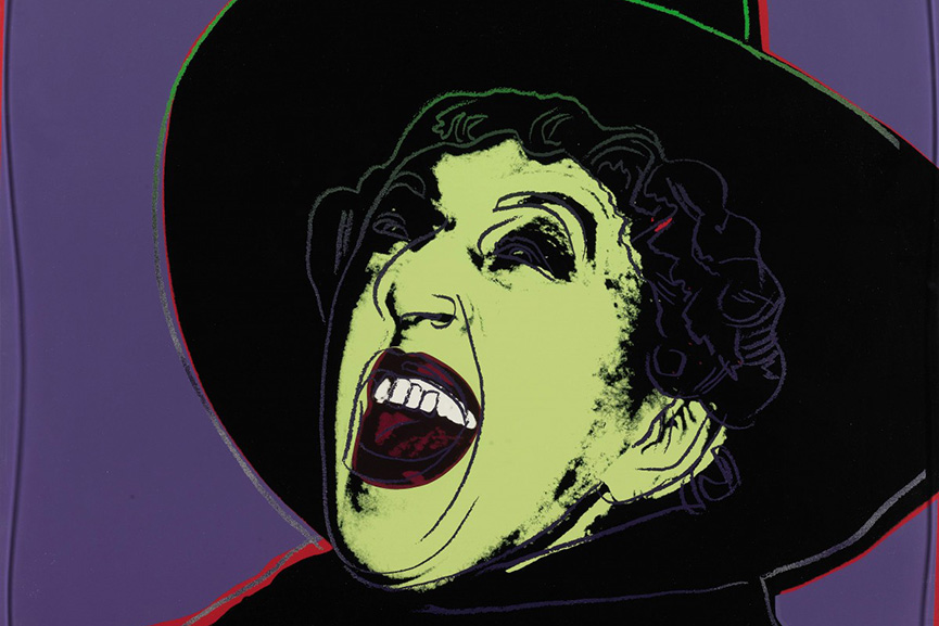 Andy Warhol The Witch Halloween