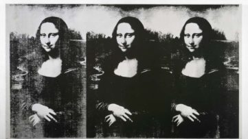 Andy Warhol - Triple Mona Lisa