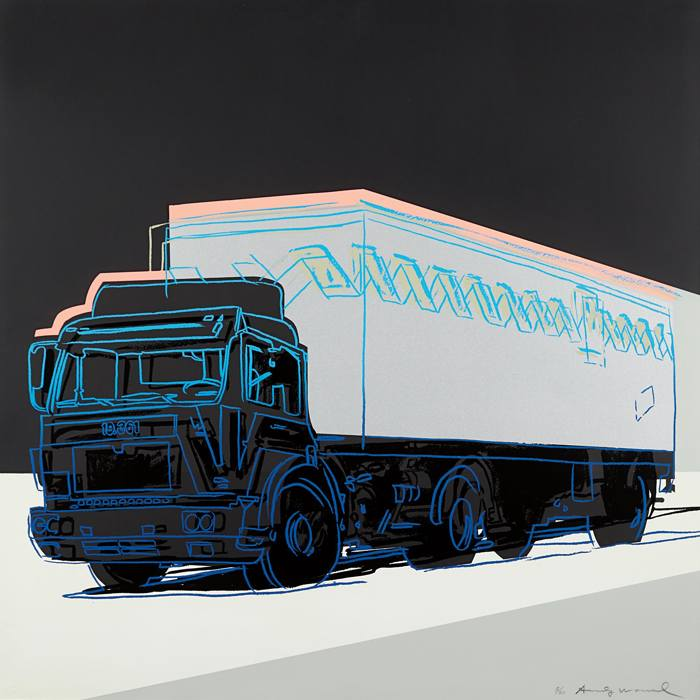 Andy Warhol-Truck-1985
