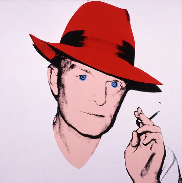 Andy Warhol - Truman Capote, 1979