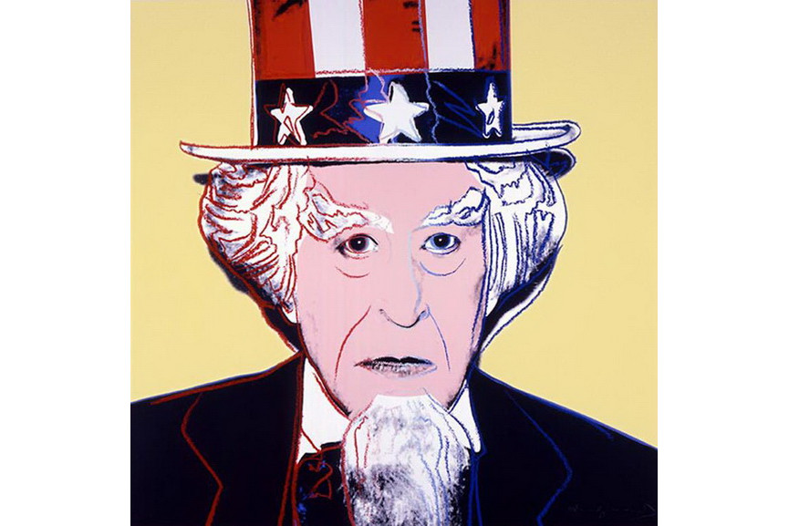Andy Warhol - Uncle Sam