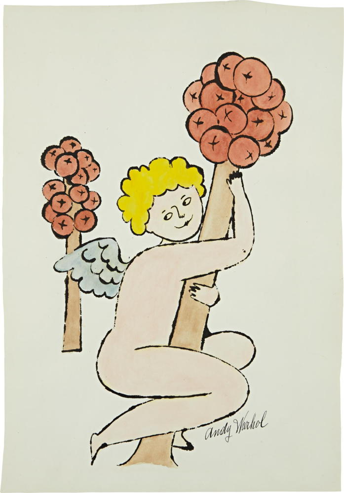 Andy Warhol-Untitled-1956
