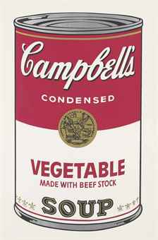 Andy Warhol-Vegetable, from Campbell's Soup I-1968