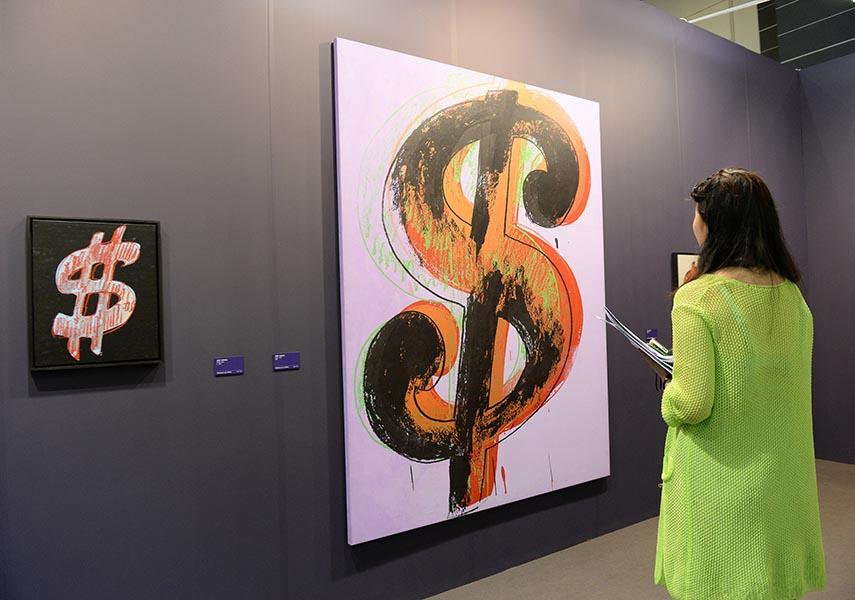 Andy Warhol and Dominique Levy Gallery at Art Basel Hong Kong 2013