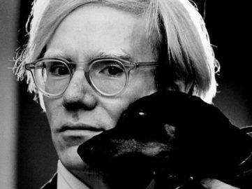 Andy Warhol, between 1966 and 1977 by Jack Mitchell