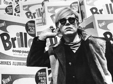 Andy Warhol in Stockholm, 1968