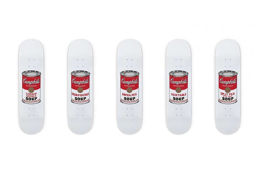 Andy Warhol skate decks