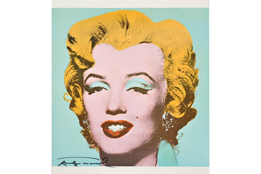 pop objects created by roy lichtenstein, warhol, richard hamilton celebrate american pop culture