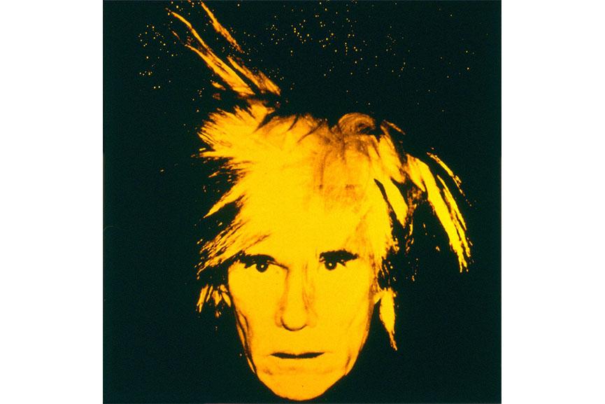 AndyWarhol-Self-Portrait-1986-a Ideas For Andy Warhol Pop Art Portraits @koolgadgetz.com.info