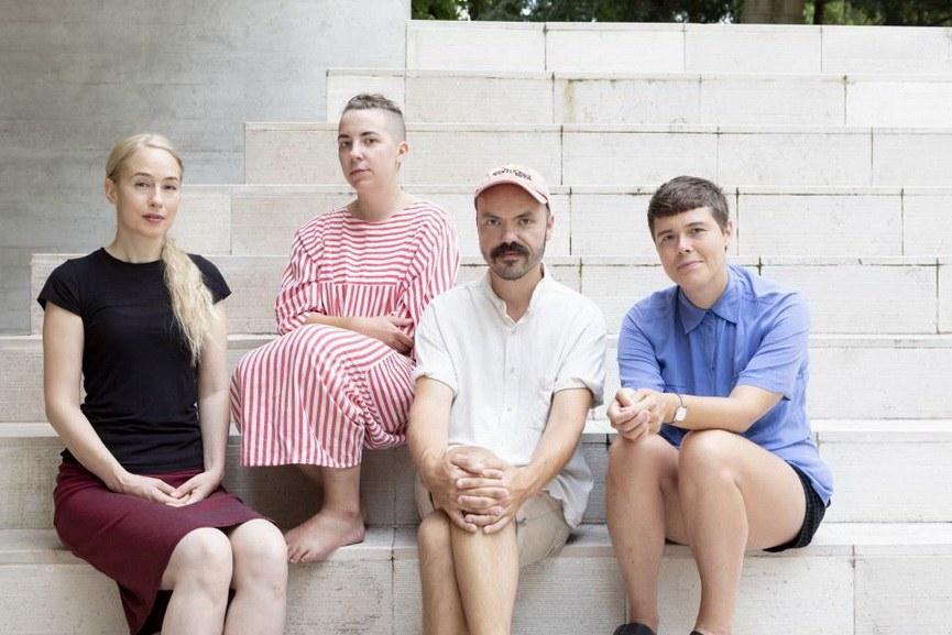 Ane Graf, Maria Teeri, Janne Nabb and Ingela Ihrman