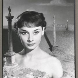 Angus McBean-Audrey Hepburn-1950