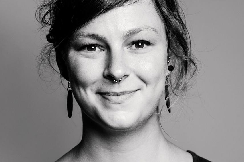 Anna Lafrentz of Millerntor Gallery. Millerntor Hamburg st pauli stadion juli jahr 2016 - hamburger kunst und künstler musik