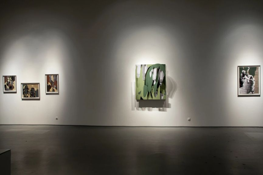 Anna Parkina at Regina Gallery; oil paintings