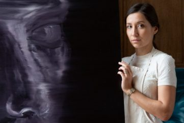 Anna Peter Breton - portrait