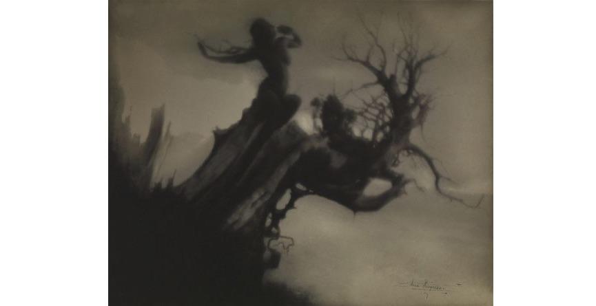 Anne Brigman - The Storm Tree