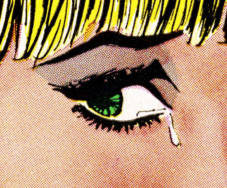 Anne Collier - Woman Crying (Comic) #8, 2019