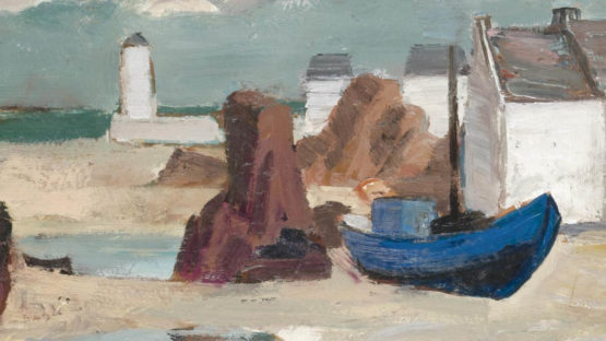 Anne Estelle Rice - Low Tide, Brittany (detail), image via sothebyscom
