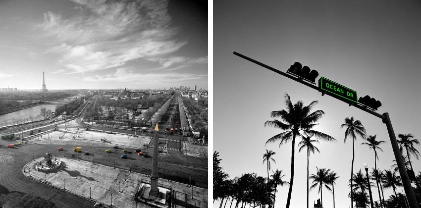 Anne Valverde - Paris Smarties (Left) / Ocean Drive (Right)