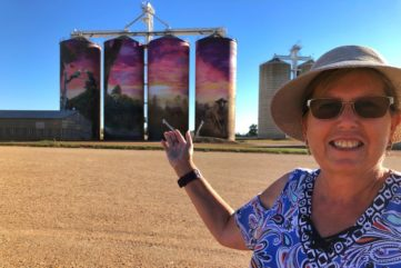 Annette Green Takes Us On a Journey Through the Australian Silo Mural Art Trail