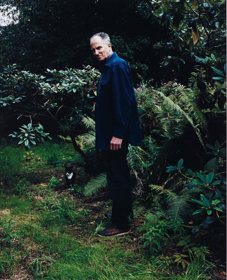 Annette Kelm-Hans in his Garden-2008