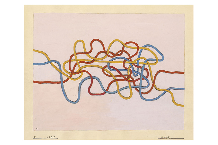 Anni Albers - Knot, 1947