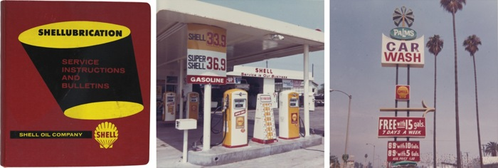 Anonymous American Photographers - Shell Gas Stations And Products California 1960S-