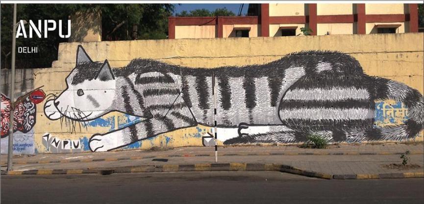 Street Art Festival in India