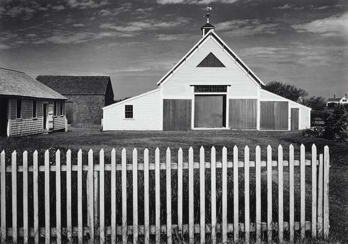 Ansel Adams-Barn, Cape Cod, Massachusetts-1937