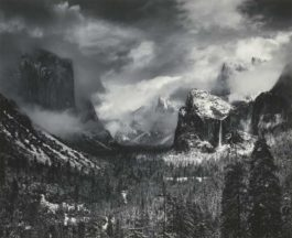 Ansel Adams-Clearing Winter Storm Yosemite National Park-1944