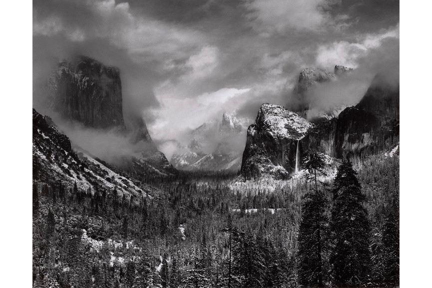 Ansel Adams - Clearing Winter Storm Yosemite National Park