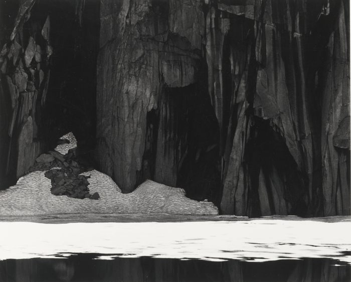 Ansel Adams-Frozen Lake And Cliffs Kaweah Gap Sequoia National Park Ca.-1932