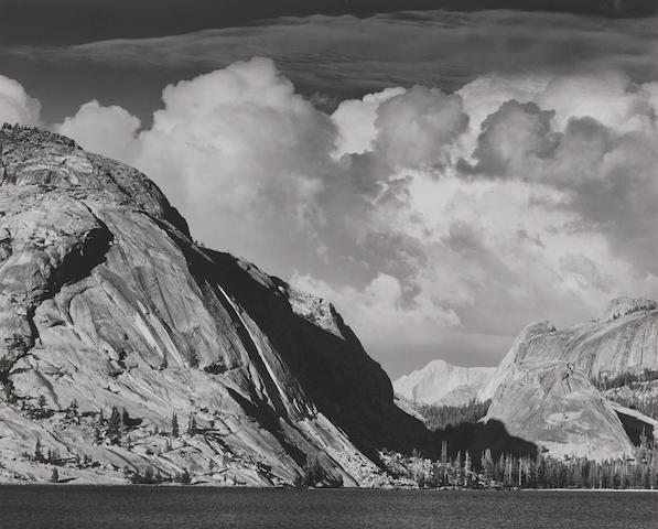 Ansel Adams-Lake Tenaya, Mount Conness, Yosemite National Park, California-1946