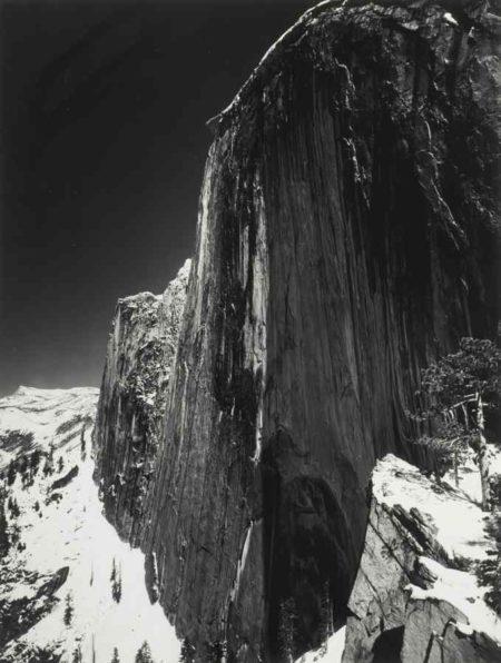 Ansel Adams-Monolith, the Face of Half Dome, Yosemite National Park California-1927