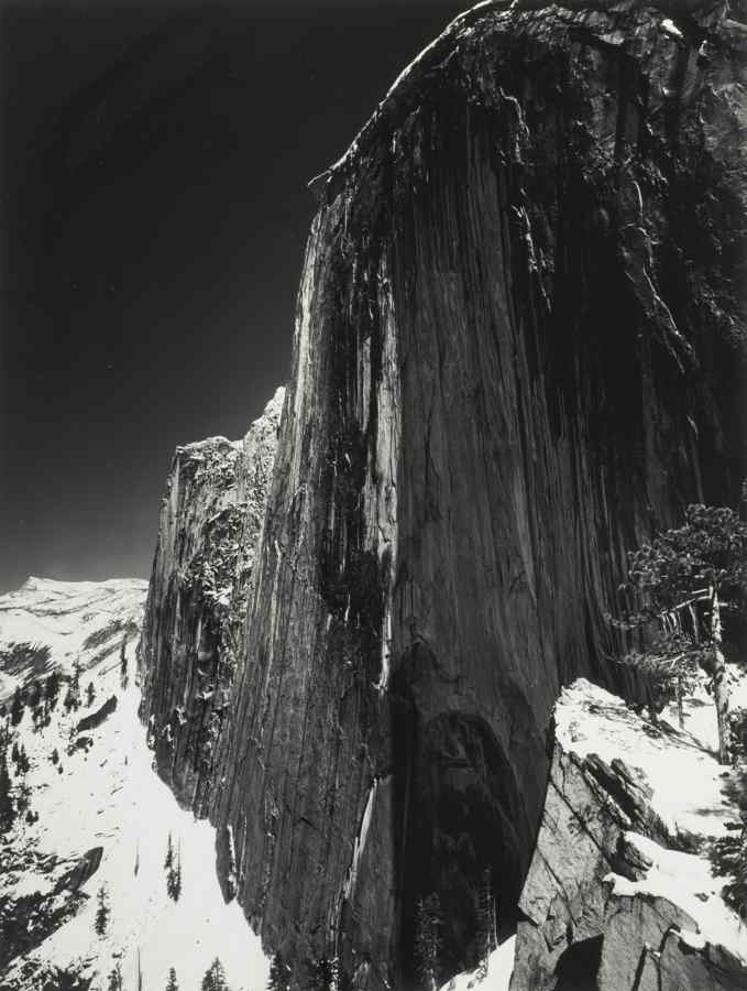Ansel Adams-Monolith, the Face of Half Dome, Yosemite National Park California-1927