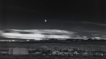 Ansel Adams - Moonrise Hernandez New Mexico
