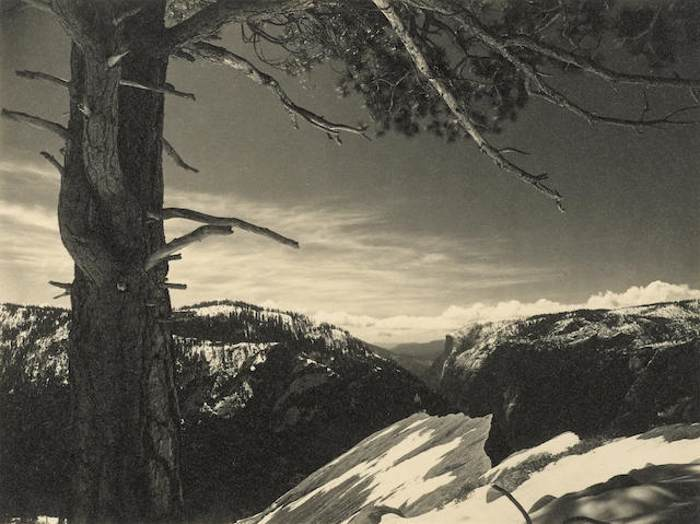 Ansel Adams-On the Heights, Yosemite National Park-1927