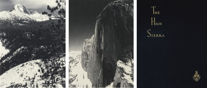 Ansel Adams-Parmelian Prints Of The High Sierras-1920