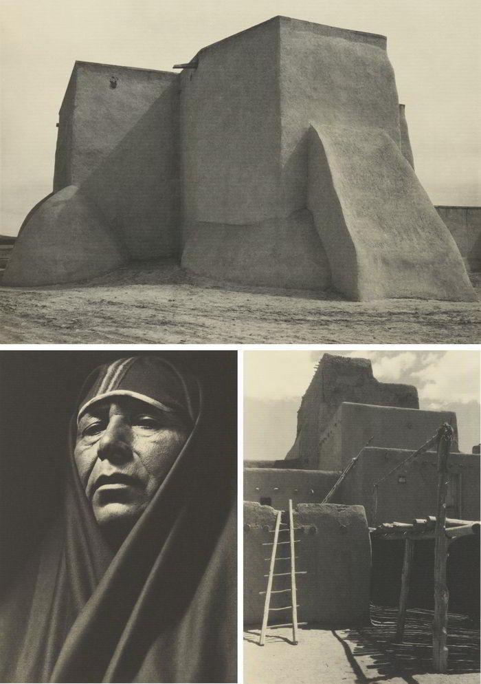 Ansel Adams-Taos Pueblo-1930