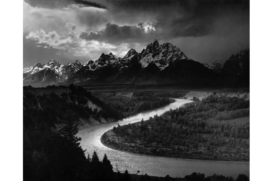 Ansel Adams - The Tetons and the Snake River, 1942