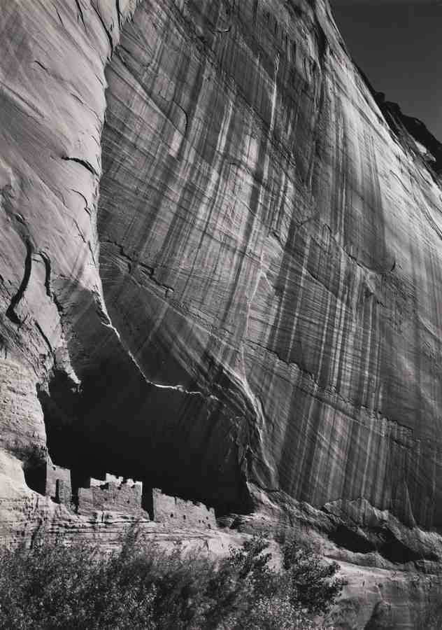 Ansel Adams-White House Ruin Canyon De Chelly National Monument-1942
