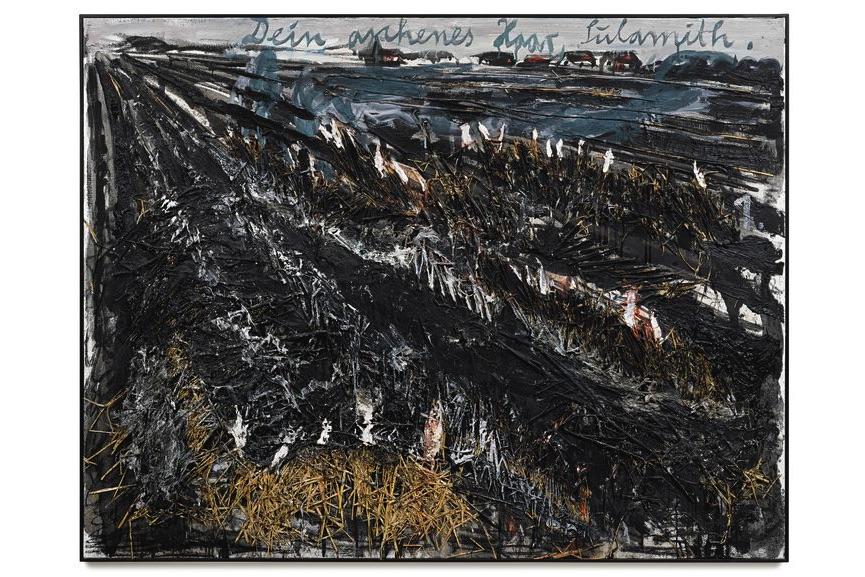 Anselm Kiefer - Dein Aschenes Haar, Sulamith, 1981