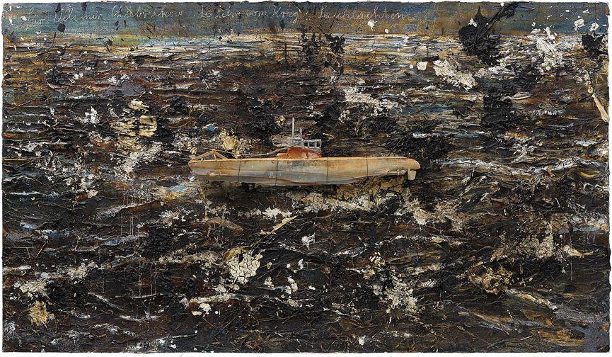 Anselm Kiefer - Fur Velimir Khlebnikov: Die Lehre Vom Krieg: Seeschlachten, 2010