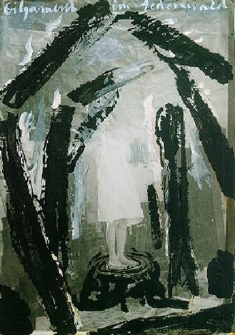 Anselm Kiefer-Gilgamesch im Zedernwald-1969